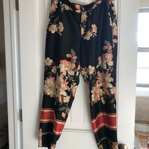 Zara floral pant
